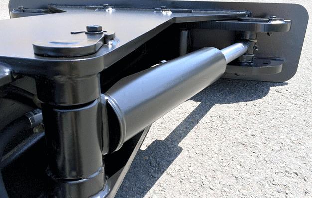 Système hydraulique - Extracteur de déchets à mâchoire hydraulique