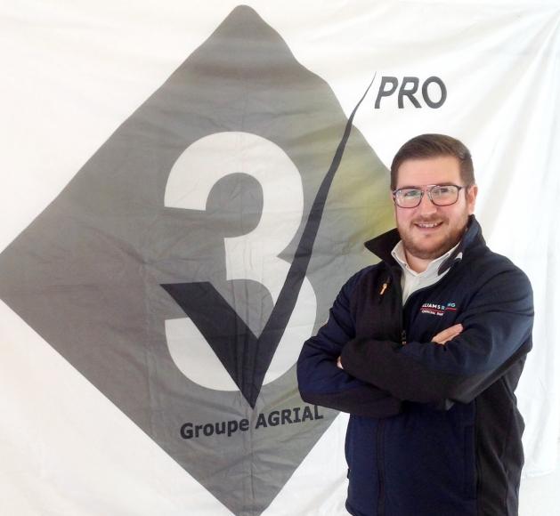 Damien Heslouin, V3 pro