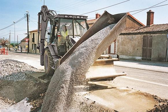 Godets pour les bâtiments et travaux publics