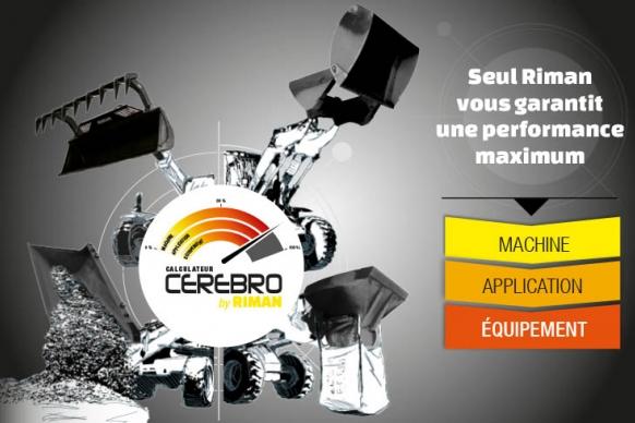 Riman garantit le meilleur équipement de manutention pour télescopique, chargeuse, chargeur, pelleteuse