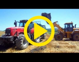 Epandage de compost 2013 avec Massey ferguson 8470 & Tebbe