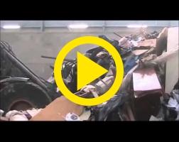 Godet à déversement intégral déchets Riman